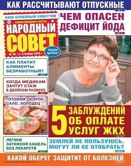 Народный совет №45 ноябрь 2020...