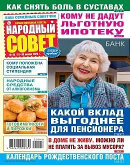 Народный совет №48 ноябрь 2020...