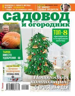Садовод и огородник №24 декабрь 2020...