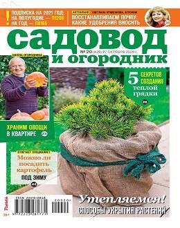 Садовод и огородник №20 октябрь 2020...