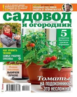 Садовод и огородник №22 ноябрь 2020...