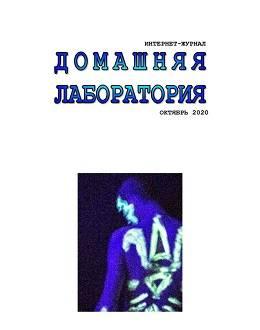 Домашняя лаборатория №10 октябрь 2020...